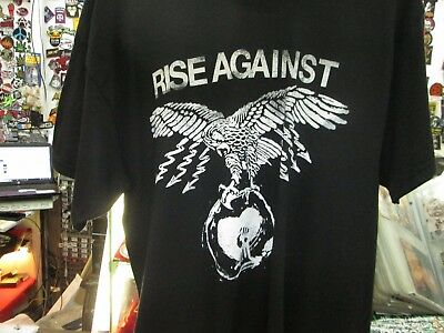 Rise Against  New  T Shirt Tee  Death Metal  Large