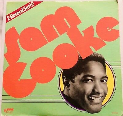 """Sam Cooke  """"2 Record  Set""""   Usa -  Up / Front  Records Double Lp - R&b / Soul"""