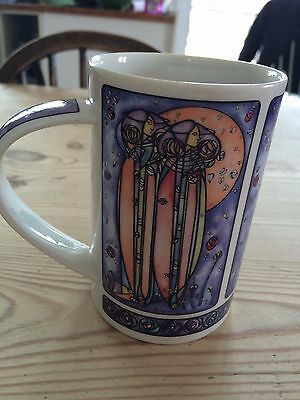 Dunoon Pottery Charles Rennie Mackintosh Mug