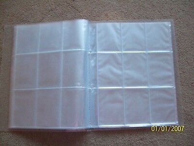 EmptyTrading Card Binder / Folder / Holder, holds 396 cards