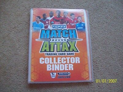 Topps Match Attax Trading Cards & Binder