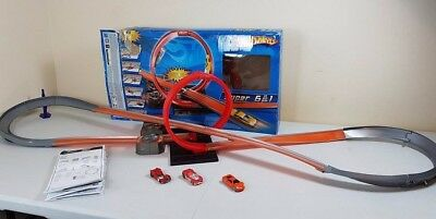 hot wheels track builder 6 in 1 cars vehicles colours shifters toy kids playset