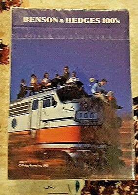 Mint Sealed Benson & Hedges 100's Train Playing Cards - 1995