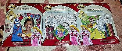 Disney Princess Color Your Own Holiday Decorations New In Box