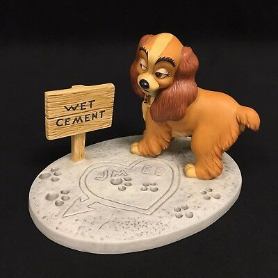 WDCC Disney Classics Collection Lady in Love Lady and the Tramp DIS99