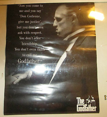 Godfather Poster Rare Sealed  16 X 20  Respect