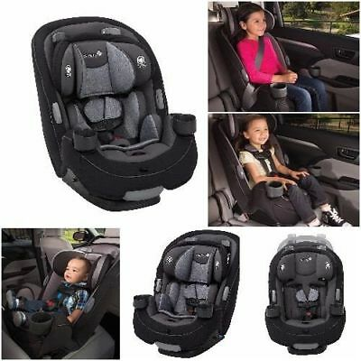Baby 3-in-1 Convertible Car Seat Newborn Toddler Child Booster Safe Kid Strap
