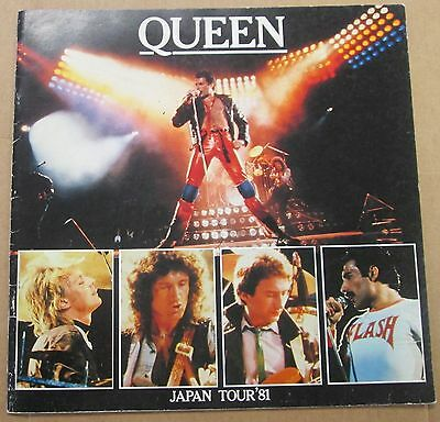 QUEEN Japan Tour '81 OFFICIAL TOUR PROGRAM RARE