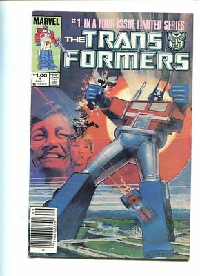 Transformers #1 Solid Grade Great Cover Canadian Price Variant
