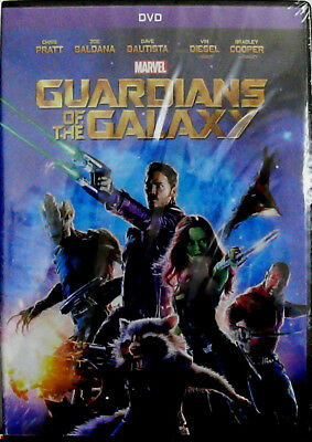 Guardians of the Galaxy (DVD, 2014) - BRAND NEW/FACTORY SEALED + BONUS