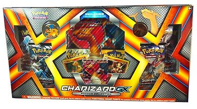 Pokemon TCG Charizard Premium Collection Box, Charizard GX SM60, New and Sealed