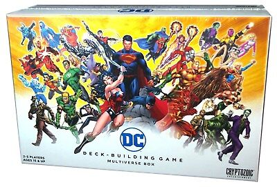 Cyptozoic, DC Comics Deck Bulding Game, Multiverse Box, New