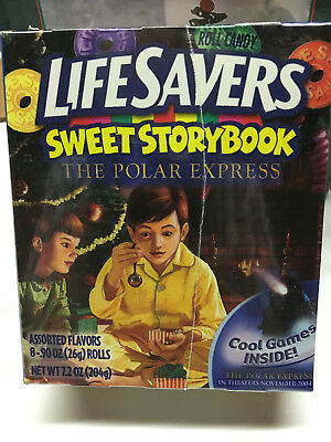 "Life Savers Sweet Storybook. ""The Polar Express""  Assorted Flavors"