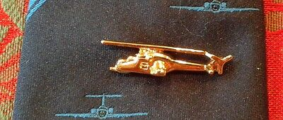 Mi-24 'Hind' Helicopter Tie Pin