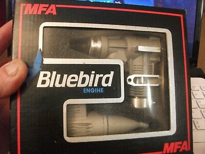 Bluebird MFA 32 Model Aeroplane Engine, New in Box with Instructions