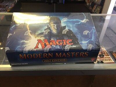 Magic Modern Masters 2017 FACTORY SEALED English Booster Box 24 Packs