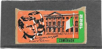 "STAMPS: IRELAND 1971 ""COMORADH"" LABEL (S/ADHESIVE) still on backing paper MINT"