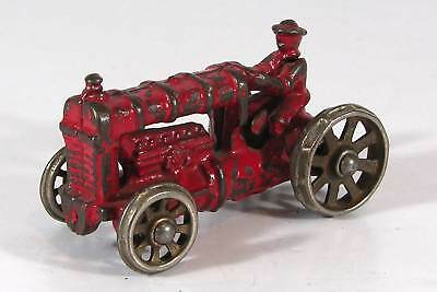 1920s CAST IRON TOY FARM TRACTOR By HUBLEY MANUFACTURING COMPANY ORIGINAL PAINT