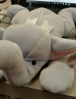 Ty - The Pillow Pals Collection SQUIRT the Elephant - 1996