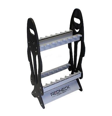 Vertical Standing Fishing Pole Display Rack Storage Organizer for 16 Rods/Reels