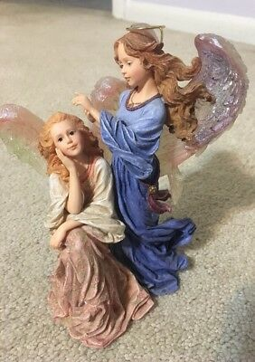 The Charming Angels by Boyds Guinevere & Felicity Guardians of Friends #28218