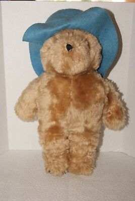 Eden Toys Inc 1972, 1981 Paddington Bear with Blue Hat, No Clothes - Approx. 14""