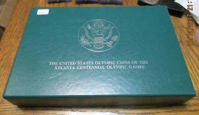 1996 US Olympic Coins of the Atlanta Centennial Olympic Games      #TF-B7