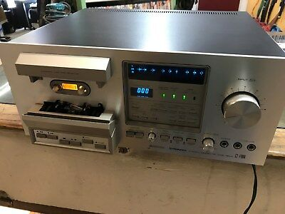 Pioneer Cassette Recorder Ct- F900 Excellent Condition
