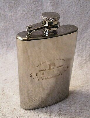 Tunnels Of Moose Jaw - Scarface - The Chicago Connection - Silver Flask - Rare!!