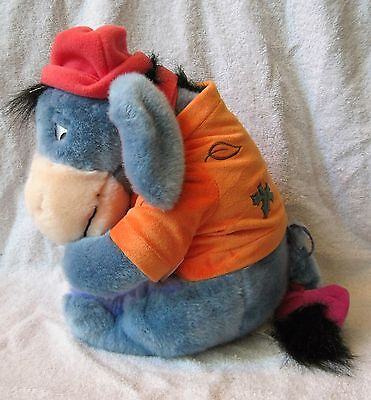 Disney Store Exclusive - Winnie The Pooh - Autumn - Fall Time - Eeyore Plush Toy