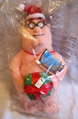 Brand-New Family Guy - Peter Griffin Merry Christmas Plush - Very Rare - Awesome