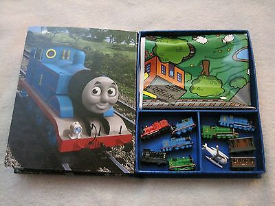Like-New - Thomas & Friends - My Busy Books Book With Playmat And 10 Figures