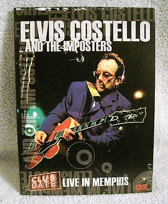 Rare - 2005 - Elvis Costello And The Imposters - Live In Memphis - Music Dvd!!