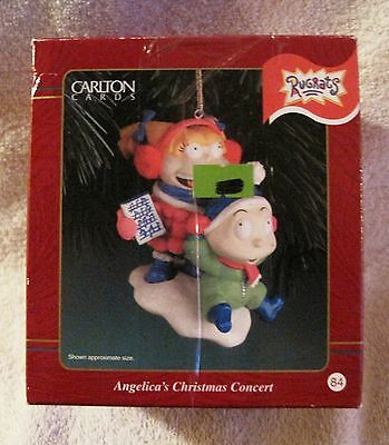 New In Box - Rugrats - Angelica's Christmas Concert - Ornament- Great Gift Item!