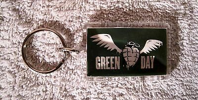 Ultra-Rare - Green Day - American Idiot - 2005 - Keychain - Great Gift Item!