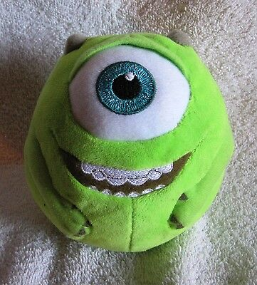 Beautiful - Disney - Monsters Inc. - Ty - Beanie Ballz - Mike - Great Gift!!