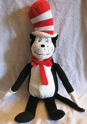"""2003 Official - Kohl's Cares For Kids - 12"""" Plush Cat In The Hat - Awesome!"""