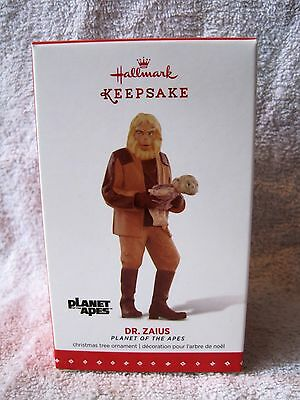 New - Hallmark Keepsake Ornament -  Dr. Zaus - Planet Of The Apes - Great Gift!!