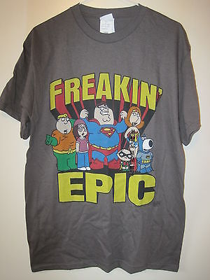 Brand-New - Tags Still Attached Family Guy - Freakin' Epic T-Shirt - Size Medium