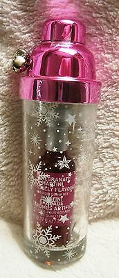 Beautiful - Bran-New - Pink With Jingle Bells - Pomegranate Martini Mix & Shaker