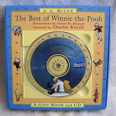 Best Of Winnie-The-Pooh - Classic Pooh - A.a.milne - Book And Narrative Cd -Gift