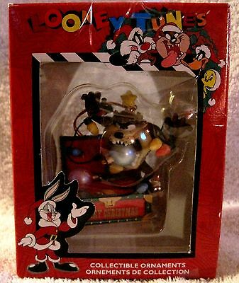 New In Box- Looney Tunes- Tazmanian Devil- Merry Christmas Ornament- Great Gift!