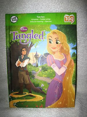 Like-New - Leap Frog - Tag Book - Tangled - Rare Find - Excellent Condition