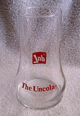 Beautiful - 7Up - The Uncola - Upside Down Coke Glass - Collector's Glass - Nice
