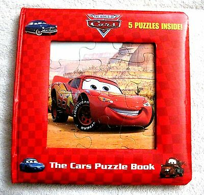 Like-New - Disney - Cars - 5 Puzzle - Storybook - Great Gift Item!!