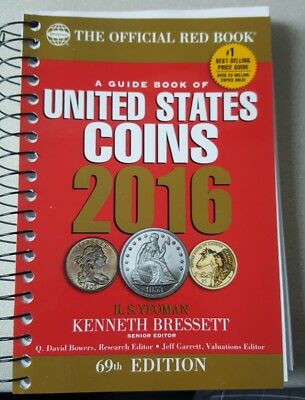 The Offical Red Book A Guide Book Of United States Coins 2016