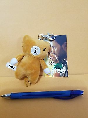 Gifted (2017) SWAG Movie Promo Fred One Eyed Cat Plush Toy New w/Tag Keychain
