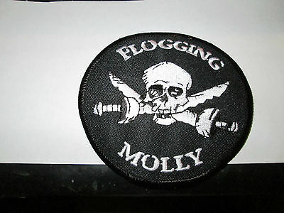 Flogging Molly Collectable Rare Vintage Patch Embroided 2000 Metal Live