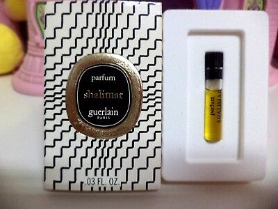Guerlain Shalimar Micro Mini Pure Parfum 0.03 OZ 1967 Never Been Used In Box
