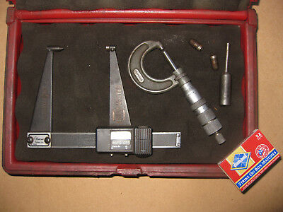 "DIGITAL""the brake force"" MICROMETER Central Tools USA plus CRAFTSMAN tool"